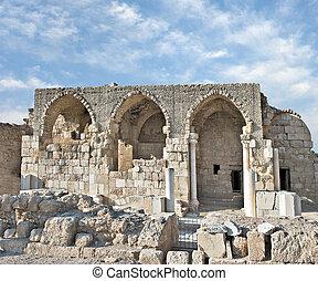 Ruins of crusaders-built church