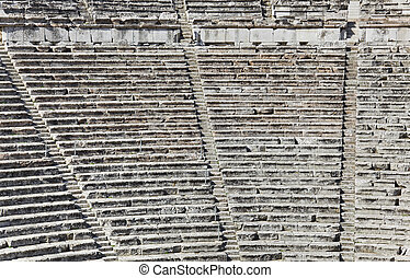Ruins of Epidaurus amphitheater, Greece