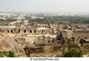Ruins of Golcanda, India