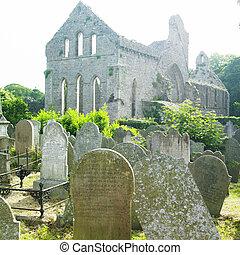 ruins of Grey Abbey, Northern Ireland