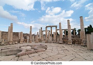 Ancient Jerash ruins,(the Roman ancient city of Geraza), Jordan