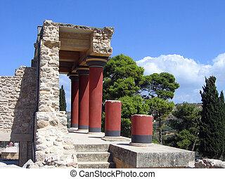 Ruins of Knossos palace