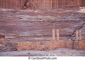 Ruins of Lost City of Petra Jordan