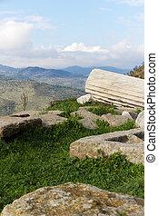 Ruins of Pergamon, Turkey