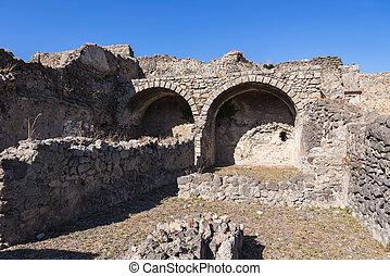 Ruins of Pompeii, the ancient Roman city