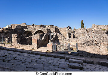 Ruins of Pompeii, the ancient Roman city