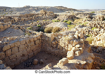 Ruins of roman fortress Meizad Tamar, Israel