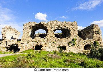 Ruins of Side. Turkey