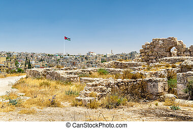 Ruins of the Amman Citadel