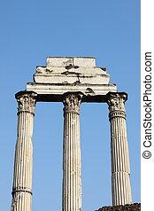 Giulia Basilica - Ruins of the Giulia Basilica in the Roman...