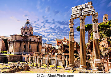 Ruins of the Old Roman Forum