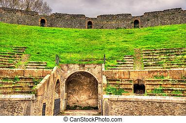 Ruins of the Pompeii Amphitheatre