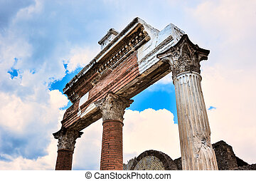 Ruins of the portico