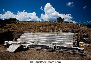 Ruins of the Roman Theatre in