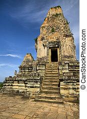 Ruins of the temples, Angkor, Cambodia