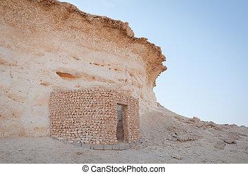 Ruins Zekreet desert, Doha, Qatar