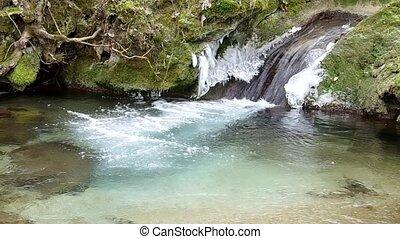 ruisseau, glacial