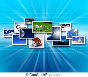 ruisseaux, de, images