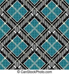 ruitjes, gray., weefsel, pattern., seamless, textuur, checkered, black , tartan, print., ei, robin, blauwe