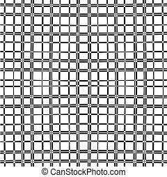 ruitjes, verticaal, modieus, witte , pattern., seamless, bef, squares., black , mager, monochroom, geometrisch, horizontaal, borstel