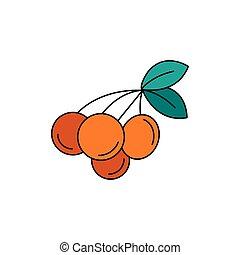 Rukem icon, cartoon style