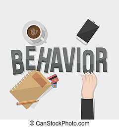 rule behavior businessman illustrat