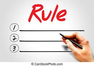RULE blank