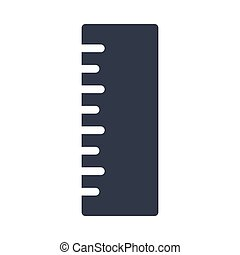 ruler  glyph color icon