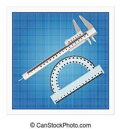 ruler instruments blueprint 9