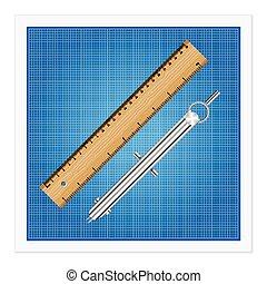 ruler instruments blueprint