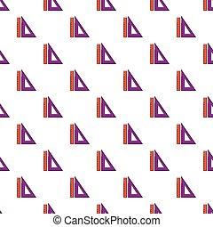 Ruler set pattern seamless