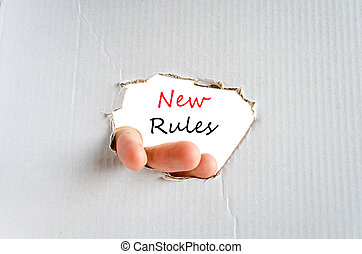 rules, новый, концепция, текст