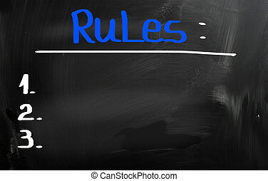 Rules Concept