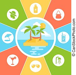 Rules of Conduct in Summer Vacation. Information Brochure