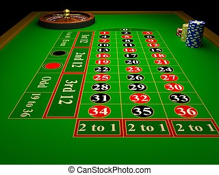 ruleta, casino