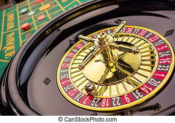 ruleta, juego, casino