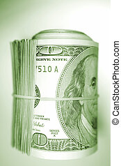 rulle, kontanter