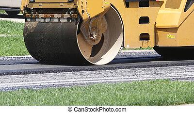 rullo asfalto