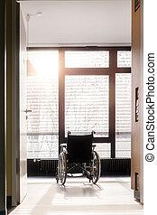 rullstol, sjukhus