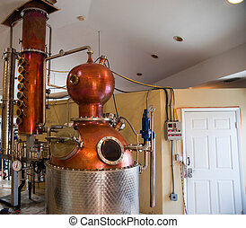 Rum distillery on Grand Cayman Island