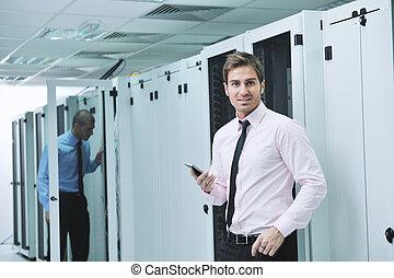 rum, servare, enineers, nätverk, den