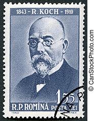 rumania, 1960:, robert, -, (1843-1910), koch, exposiciones