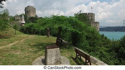 Rumeli fortress - Ancient Rumeli Fortress in Istanbul, on...