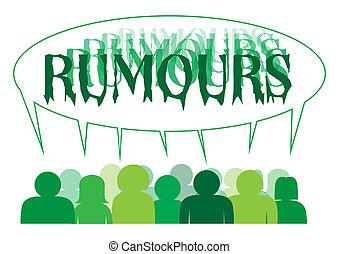 rumours, persone
