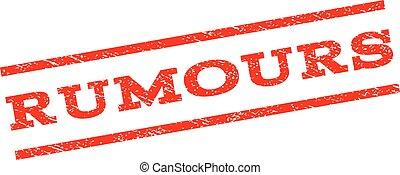 Rumours Watermark Stamp