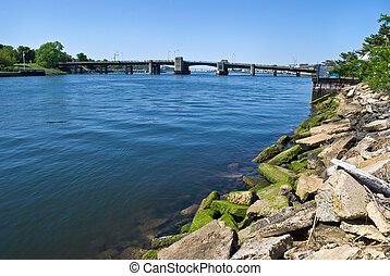 Rumson Sea Bright Bridge - The bridge from Rumson into Sea...