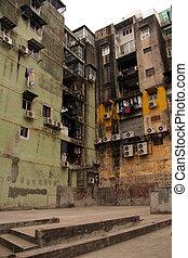 Run Down Building - Macau