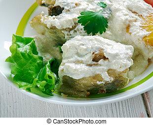 Run down stew - dish in Jamaican cuisine and Tobago cuisine