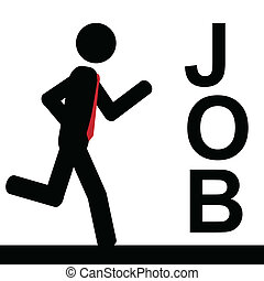 Run to job