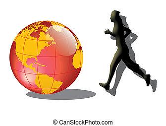 Run to the world